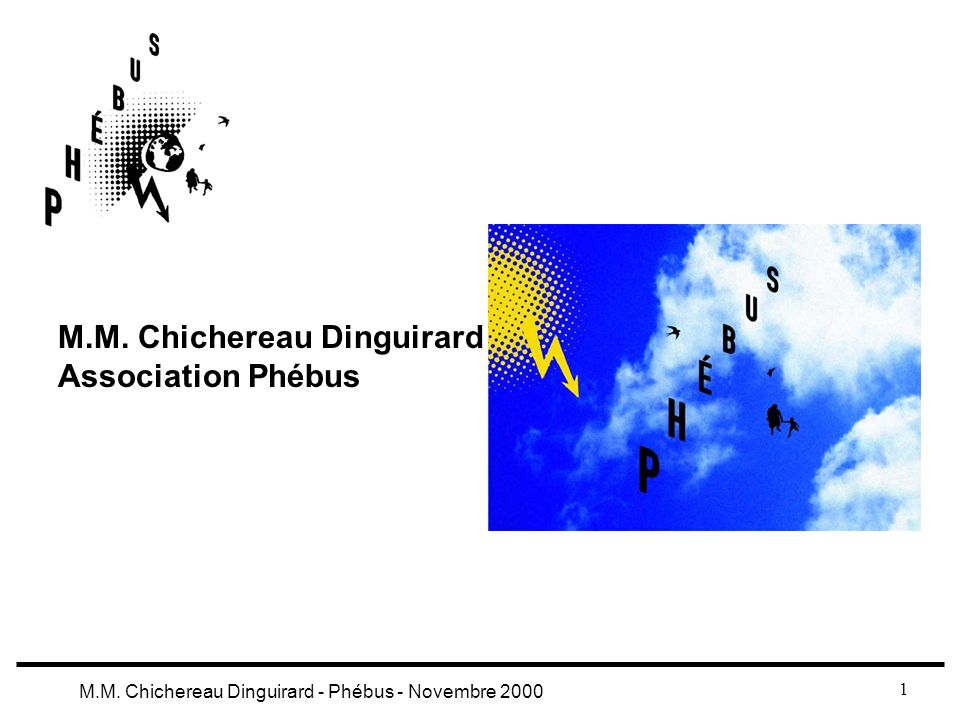 M.M. Chichereau Dinguirard