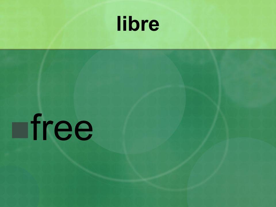 libre free