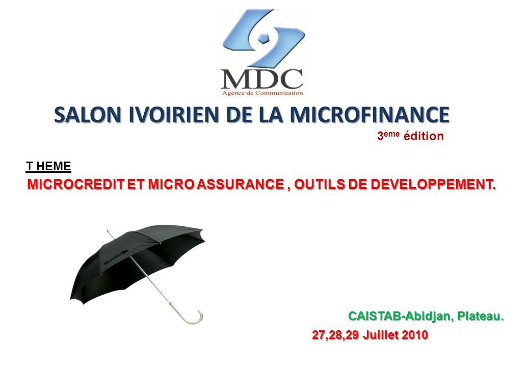 SALON IVOIRIEN DE LA MICROFINANCE