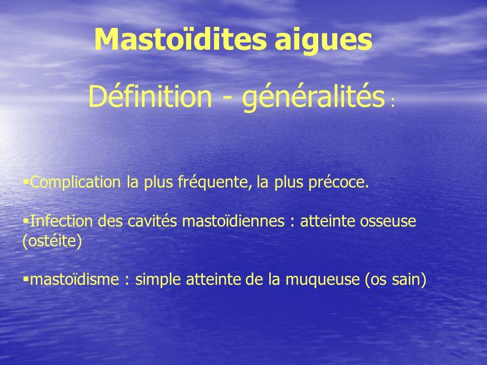 Définition - généralités :