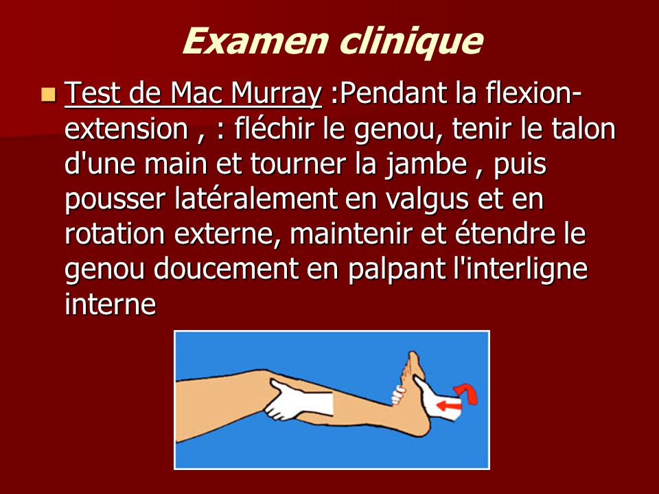 Examen clinique