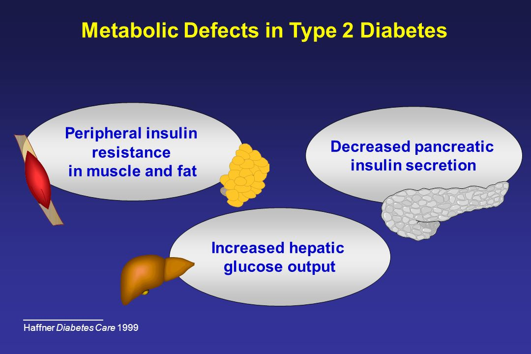 Metabolic Defects in Type 2 Diabetes