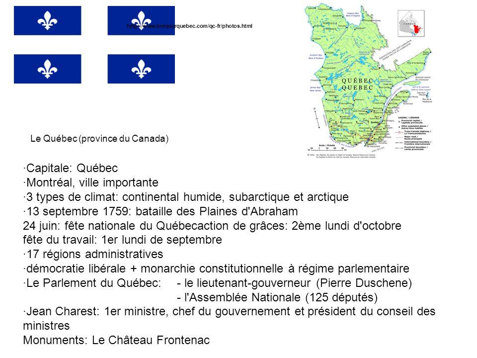 ·Montréal, ville importante