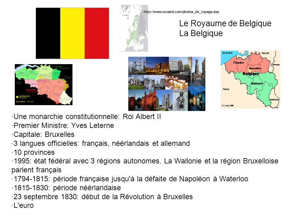 Le Royaume de Belgique La Belgique