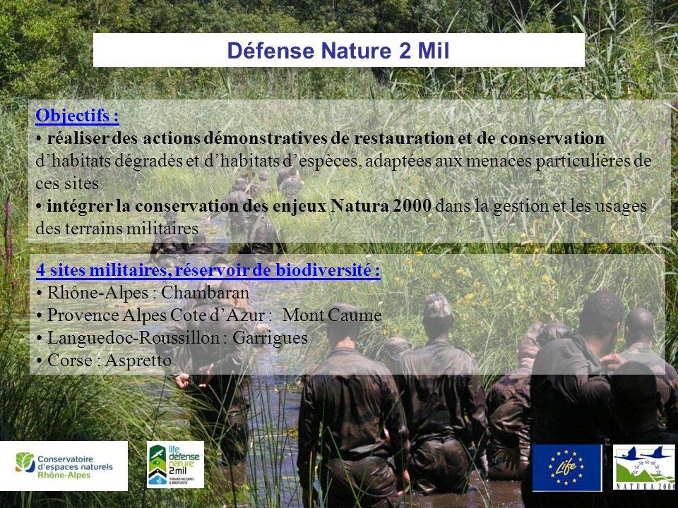 Défense Nature 2 Mil Objectifs :