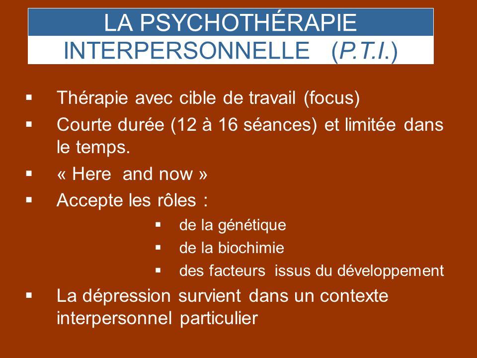 INTERPERSONNELLE (P.T.I.)
