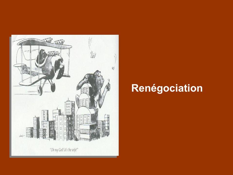 Renégociation