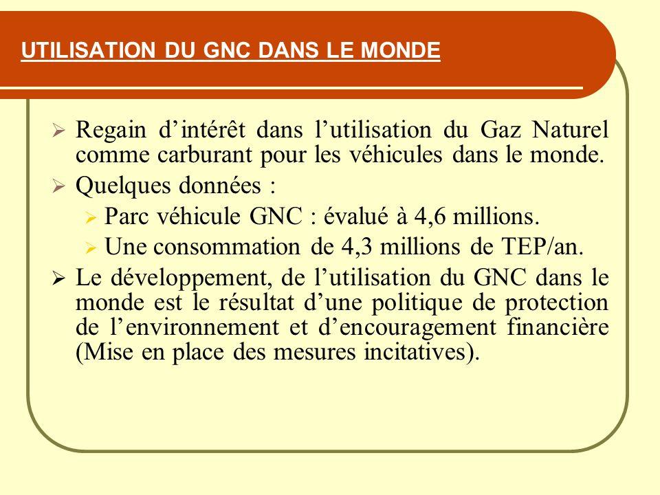 Ministere de l energie et des mines journee d etudes sur for Gaz naturel dans le monde