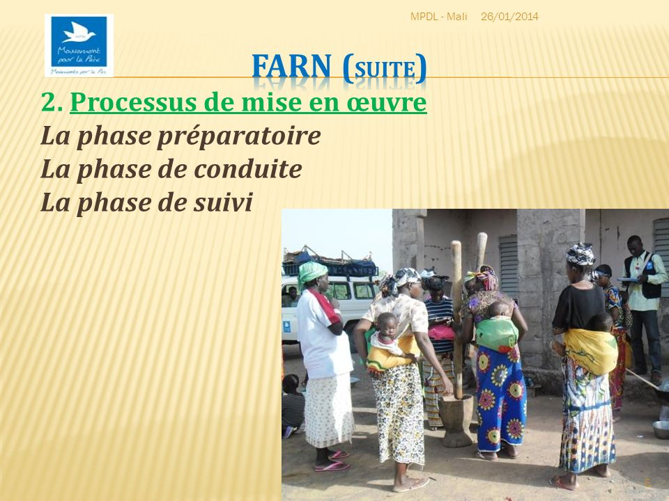 MPDL - Mali 26/03/2017. FARN (suite) 2.