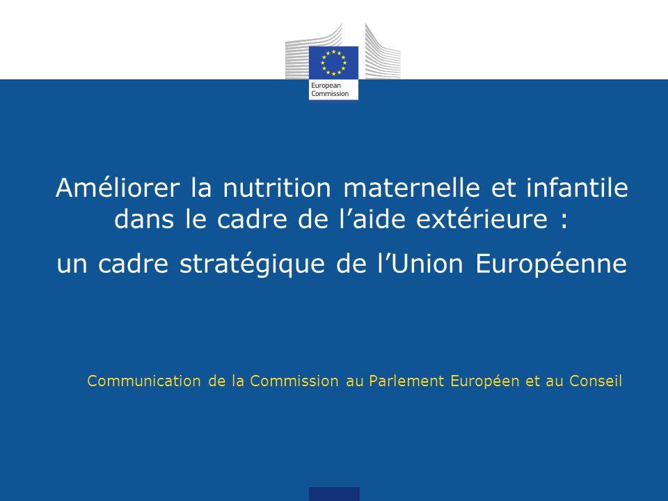 Communication de la Commission au Parlement Européen et au Conseil