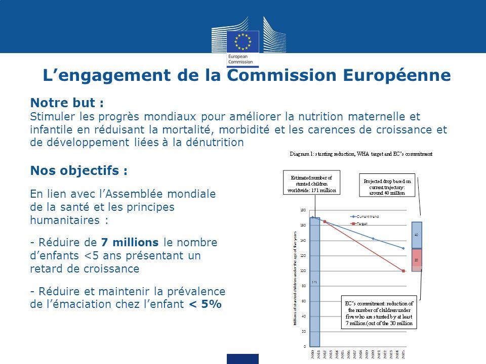 L'engagement de la Commission Européenne