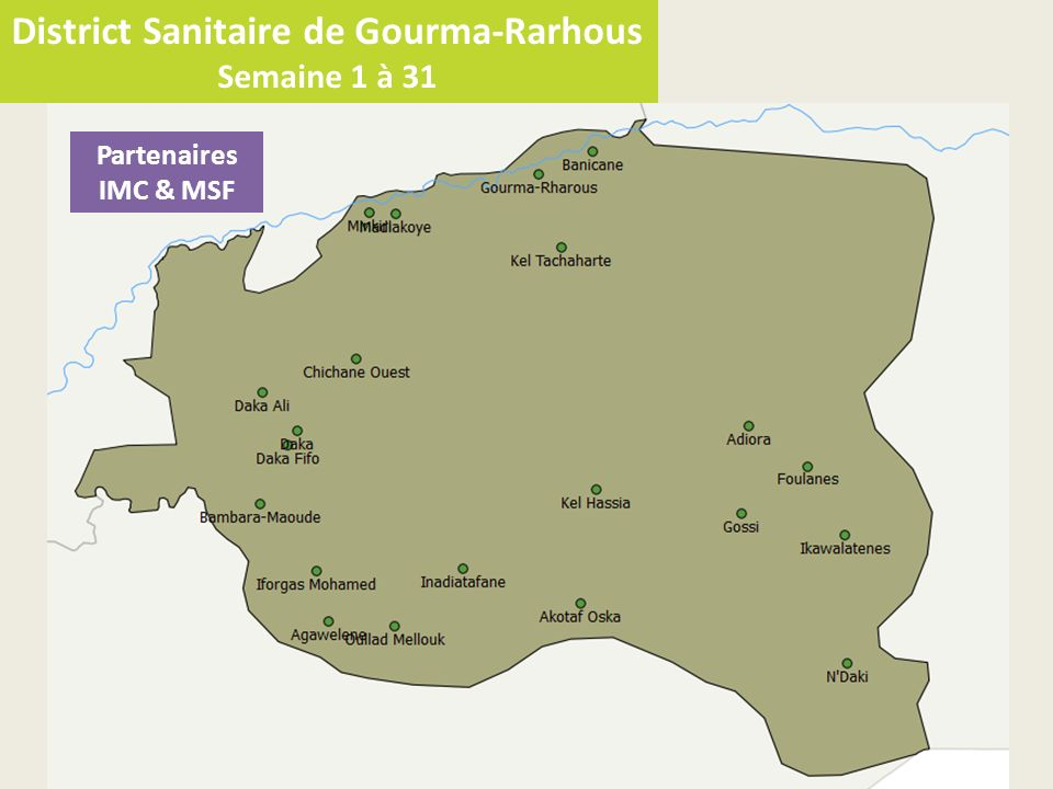 District Sanitaire de Gourma-Rarhous
