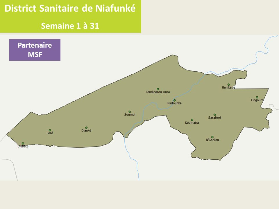 District Sanitaire de Niafunké