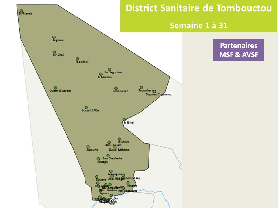 District Sanitaire de Tombouctou