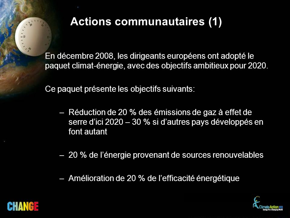 Actions communautaires (1)