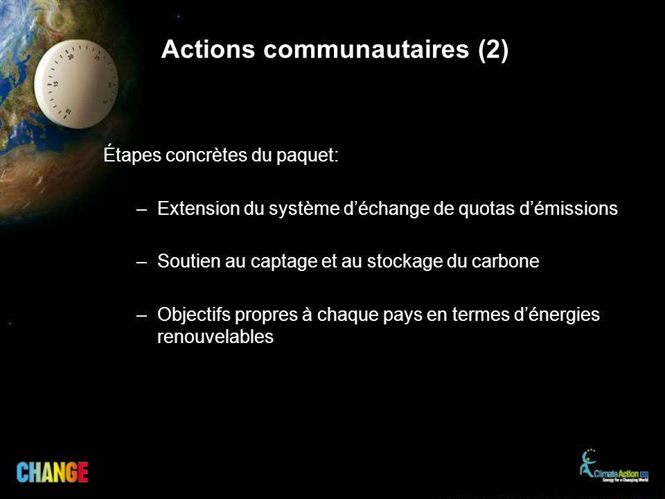 Actions communautaires (2)