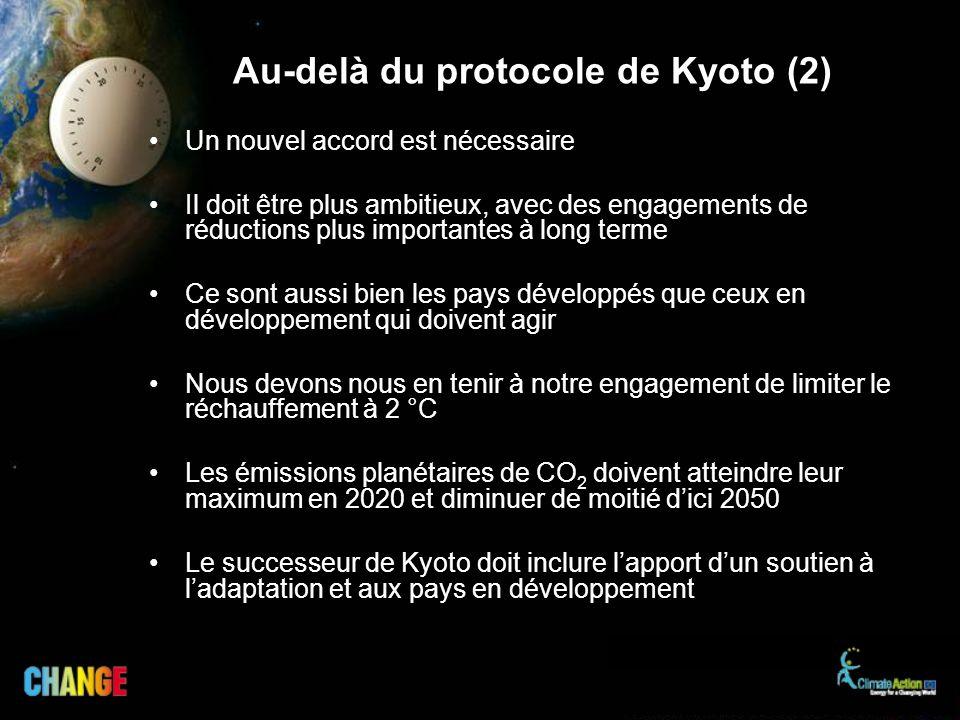 Au-delà du protocole de Kyoto (2)