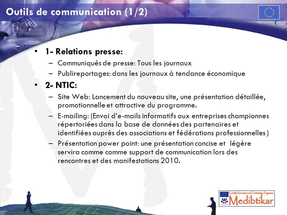 Outils de communication (1/2)