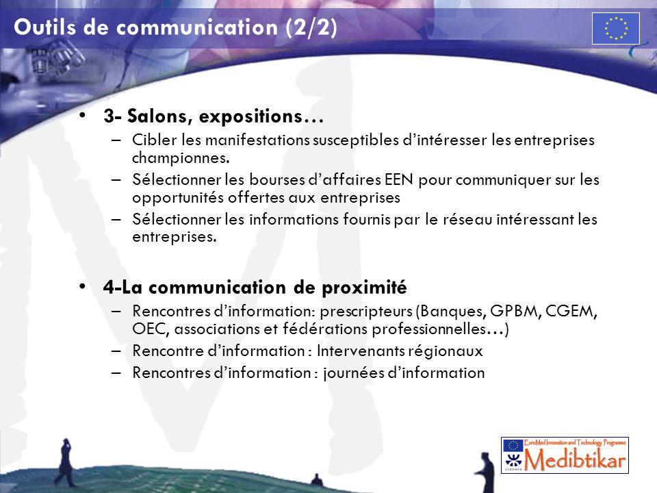 Outils de communication (2/2)