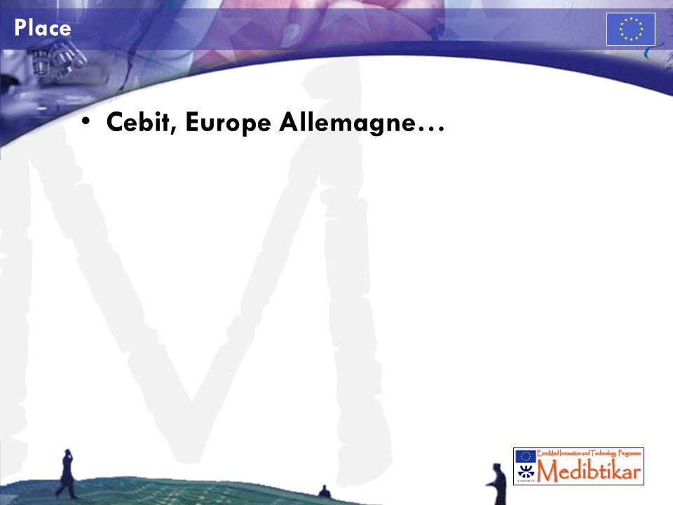 Cebit, Europe Allemagne…