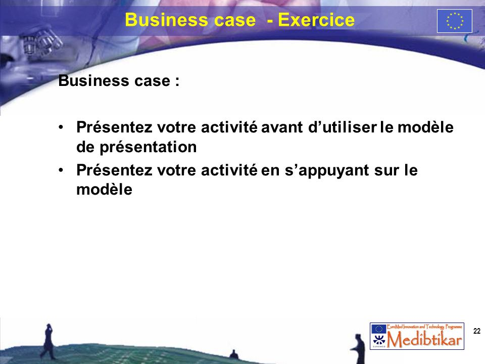 Business case - Exercice