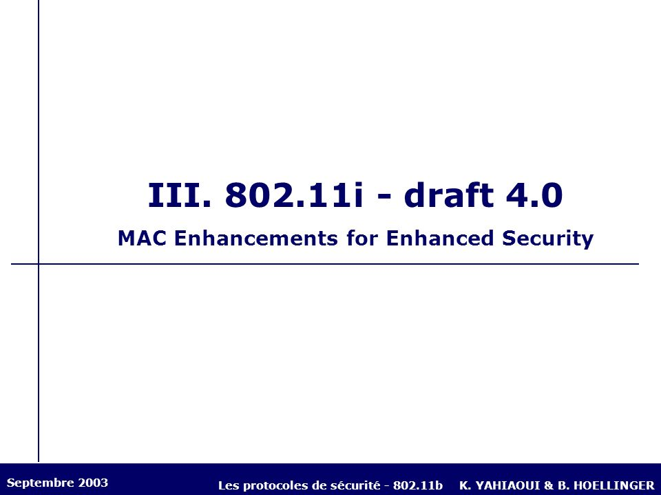 MAC Enhancements for Enhanced Security