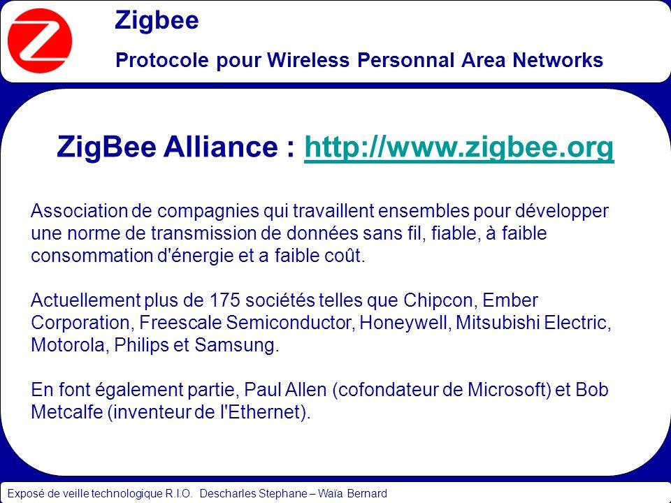 ZigBee Alliance : http://www.zigbee.org