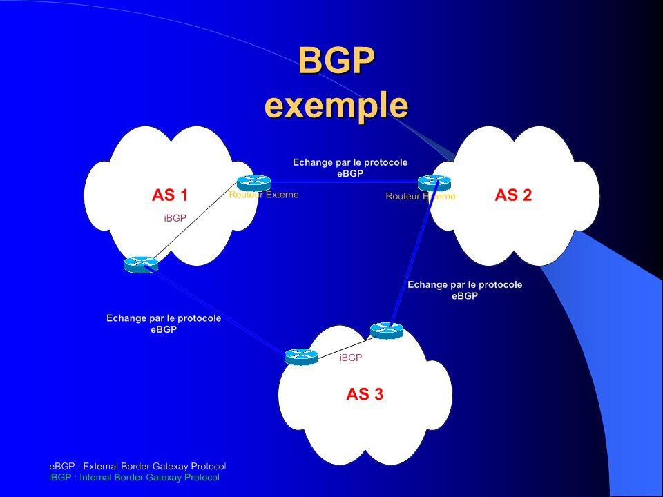 BGP exemple