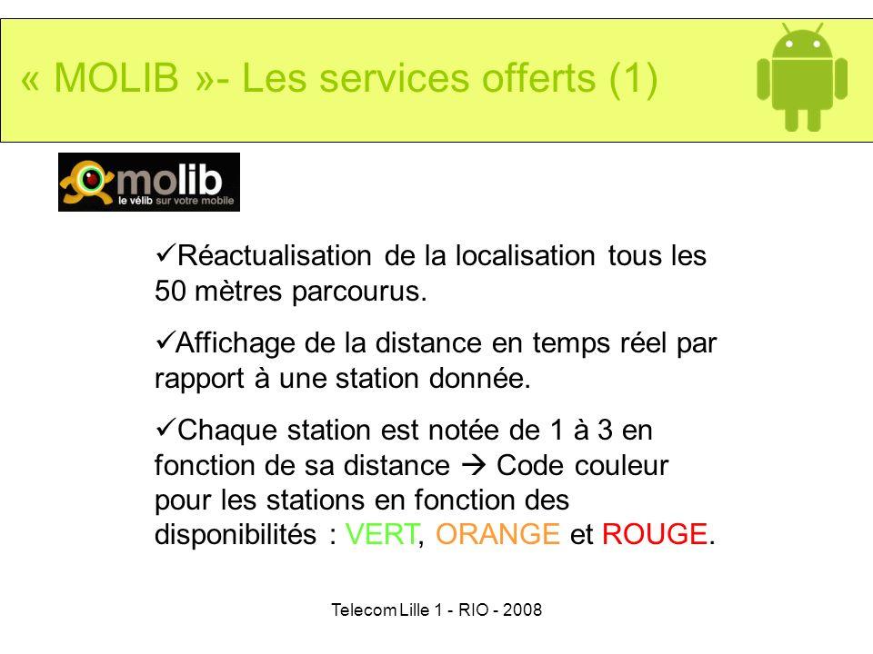 « MOLIB »- Les services offerts (1)