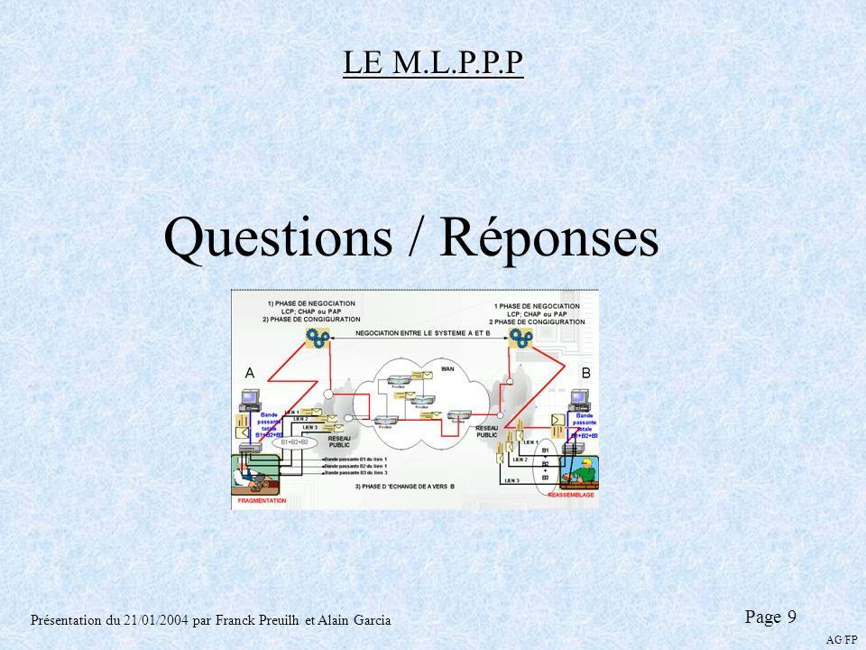 Questions / Réponses LE M.L.P.P.P Page 9
