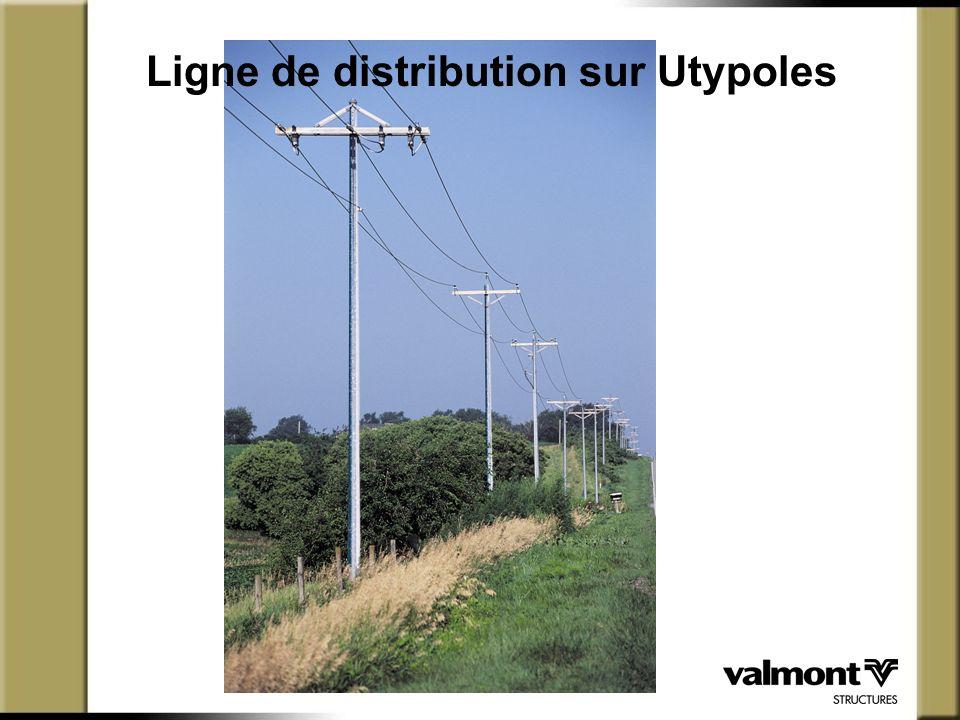 Ligne de distribution sur Utypoles
