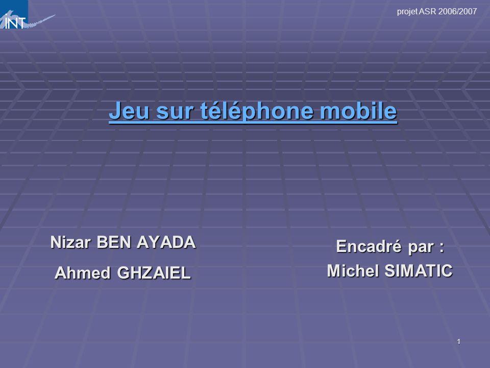 Jeu sur téléphone mobile