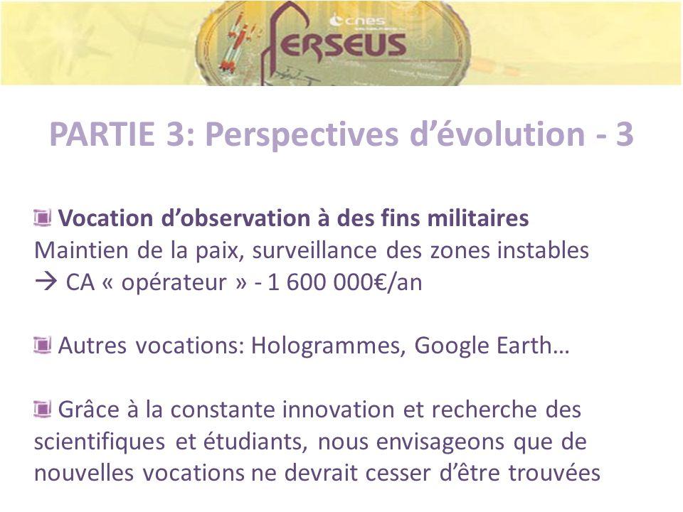 PARTIE 3: Perspectives d'évolution - 3
