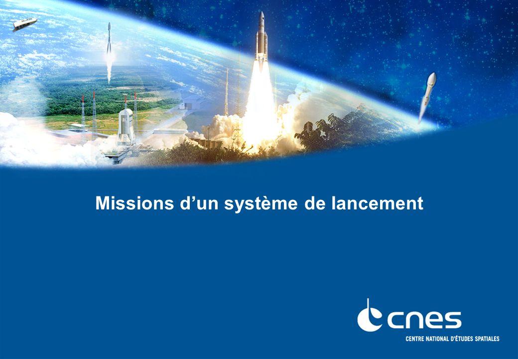 Missions d'un système de lancement