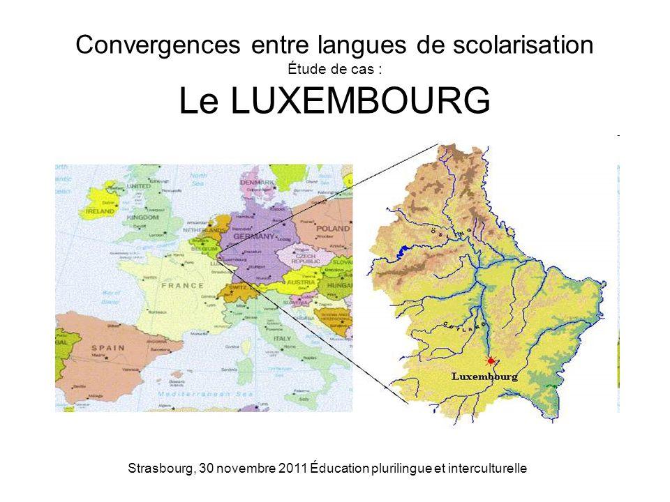 Strasbourg, 30 novembre 2011 Éducation plurilingue et interculturelle