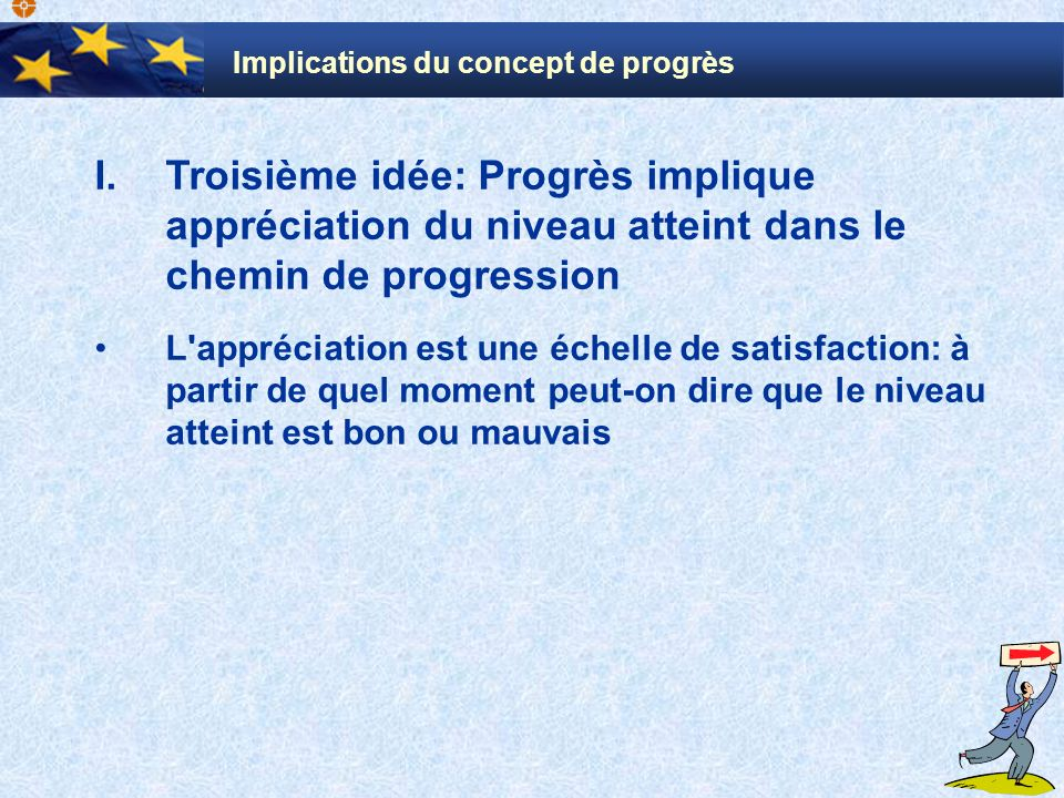 Implications du concept de progrès