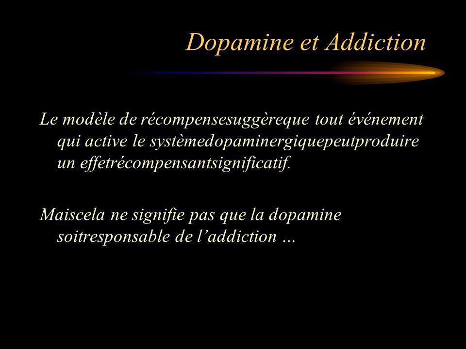 Dopamine et Addiction