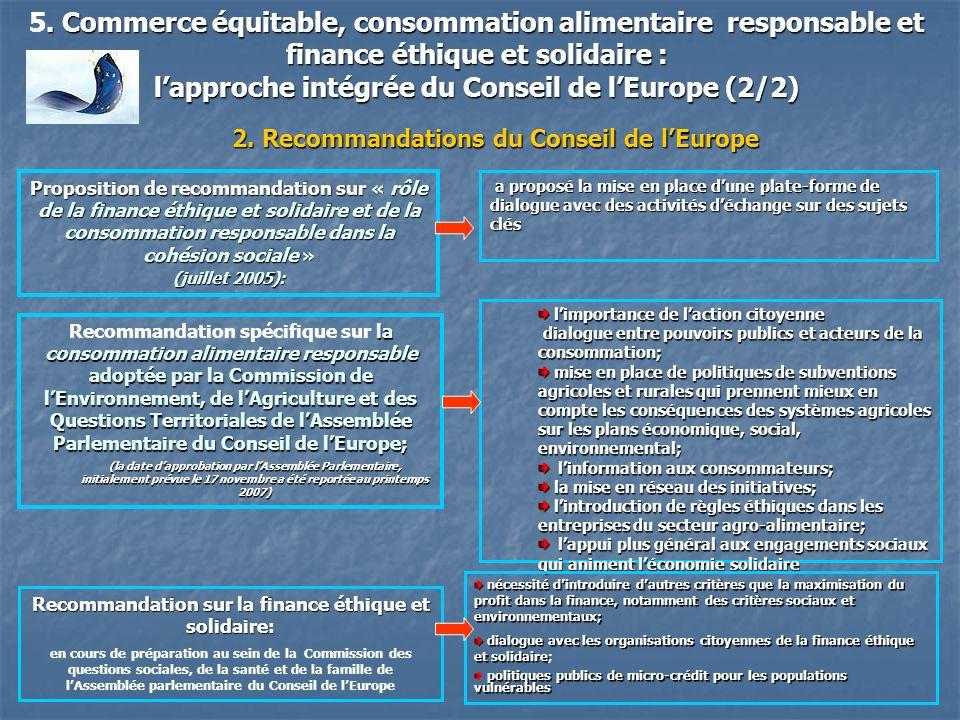 l'approche intégrée du Conseil de l'Europe (2/2)