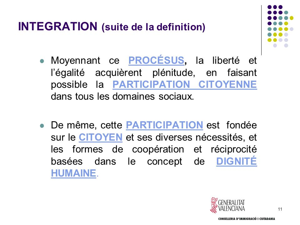 INTEGRATION (suite de la definition)