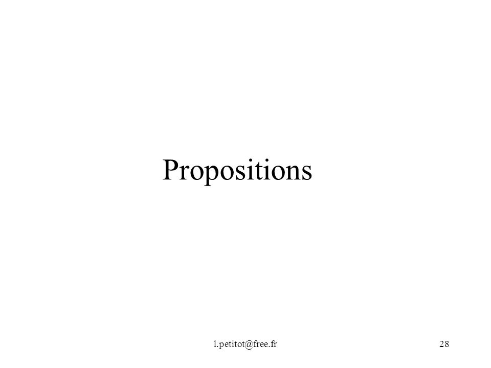 Propositions l.petitot@free.fr