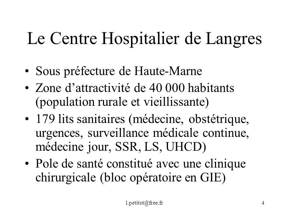 Le Centre Hospitalier de Langres