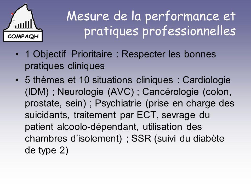 Mesure de la performance et pratiques professionnelles