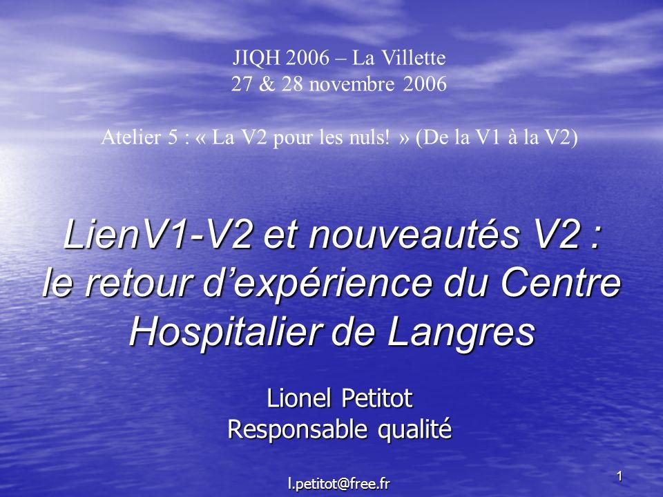 Lionel Petitot Responsable qualité l.petitot@free.fr