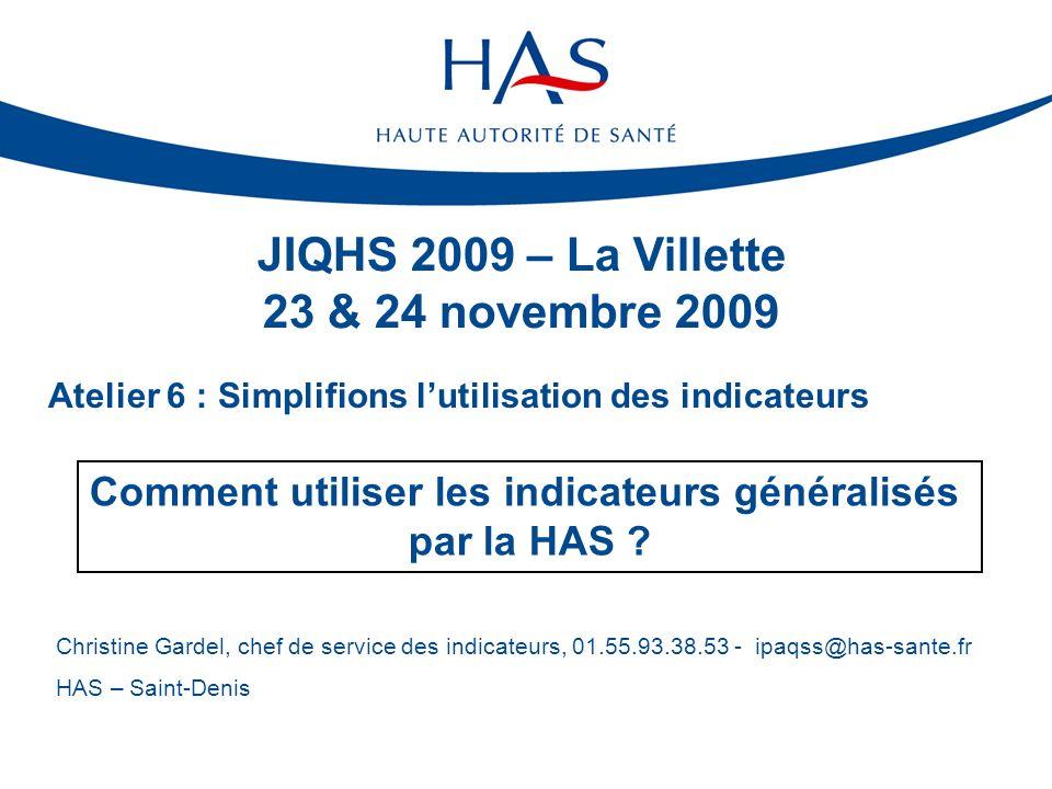 JIQHS 2009 – La Villette 23 & 24 novembre 2009