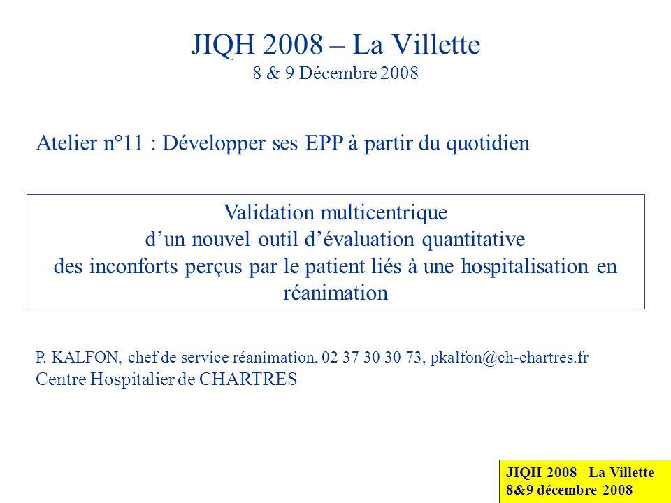 JIQH 2008 – La Villette 8 & 9 Décembre 2008