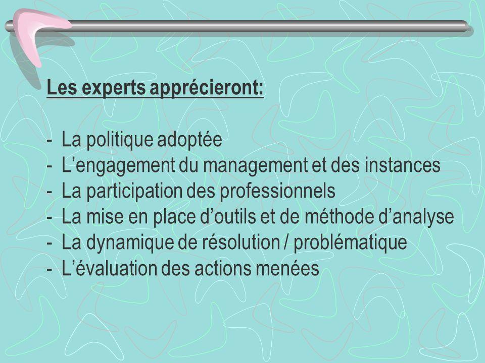 Les experts apprécieront: