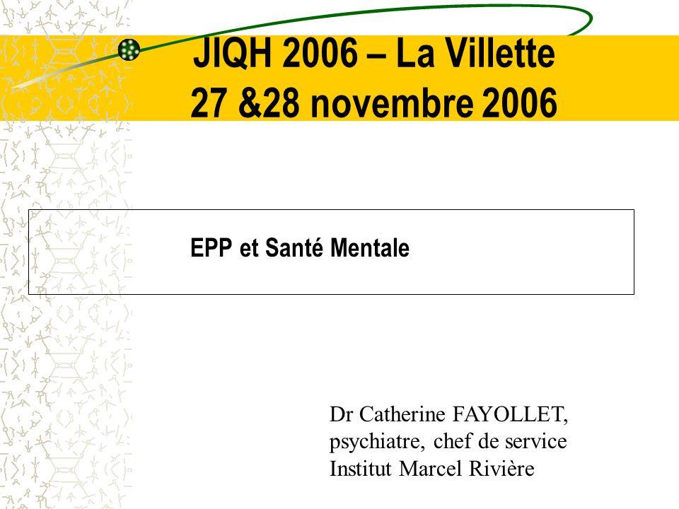 JIQH 2006 – La Villette 27 &28 novembre 2006