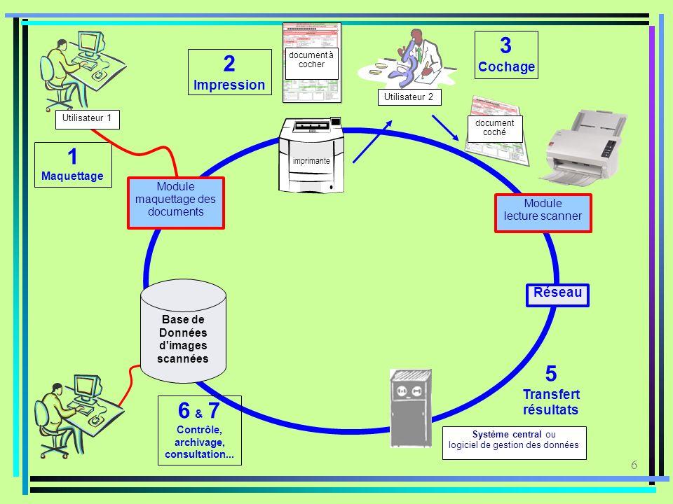 Base de Données d images scannées Contrôle, archivage, consultation...
