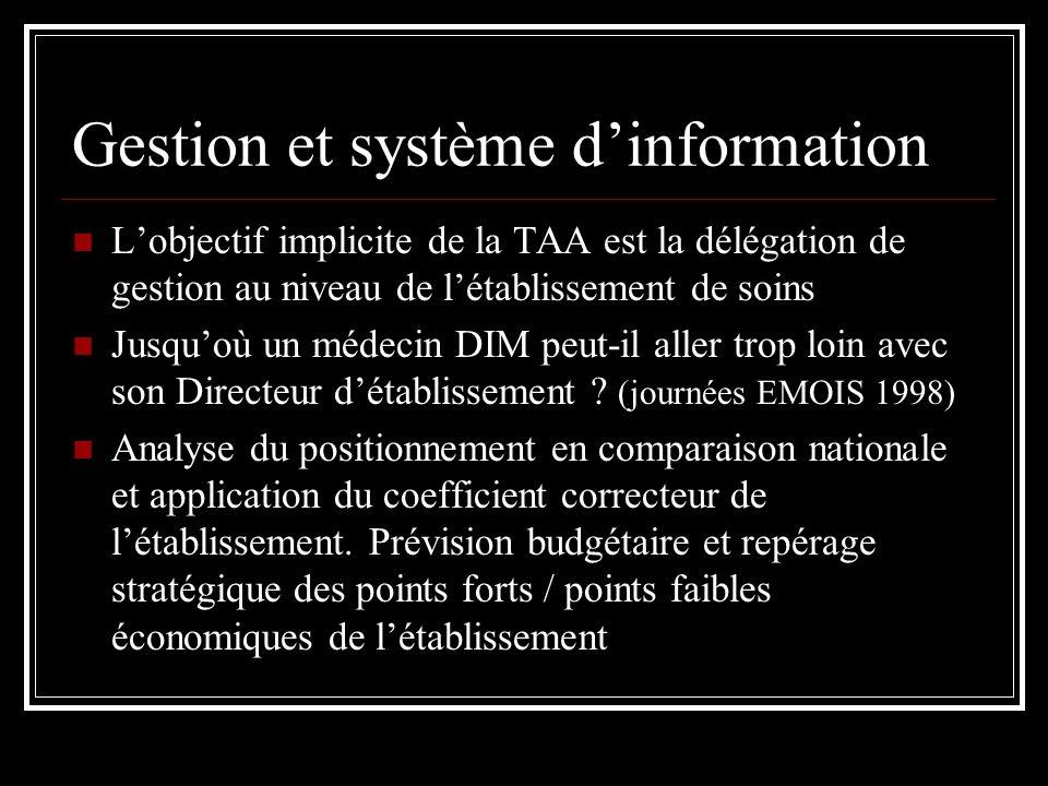 Gestion et système d'information