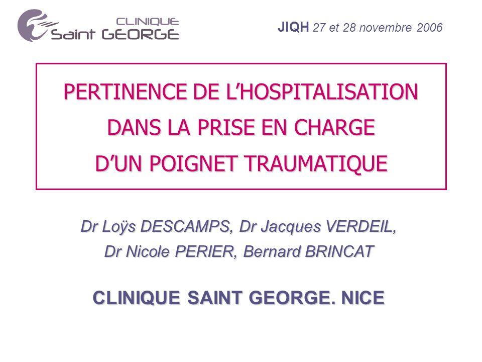 CLINIQUE SAINT GEORGE. NICE